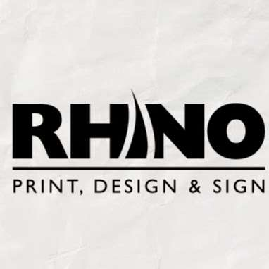 Rhino Print, Design & Sign